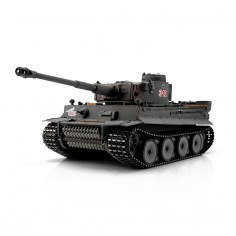 TORRO tank 1/16 RC Tiger I Early Vers. grey - infra