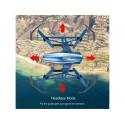 UDI PEREGRINE U28W 165mm, 2.4Ghz WIFI dronas RTF