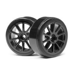 Complete wheel, 1:10 DC Drift Car (2pcs)