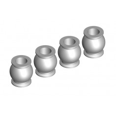 Ball - 5.8mm - Steel - 4 pcs