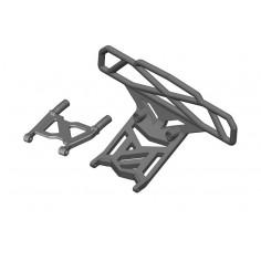 Bumper - Bull Bar Type - Rear - Composite