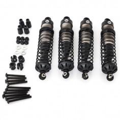 CRX 95mm aluminium shocks CRX complety set