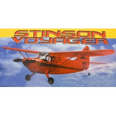 40´´ wingspan Stinson Voyager electric