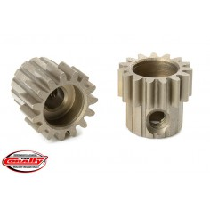 M0.6 Pinion - Short - Hardened Steel - 15 Teeth - Shaft Dia. 3.17mm