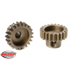 M0.6 Pinion - Short - Hardened Steel - 21 Teeth - Shaft Dia. 3.17mm