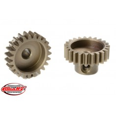 M0.6 Pinion - Short - Hardened Steel - 23 Teeth - Shaft Dia. 3.17mm