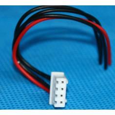 Balansavimo jungtis 3 celių, 4 kontaktų, 10cm ilgio.