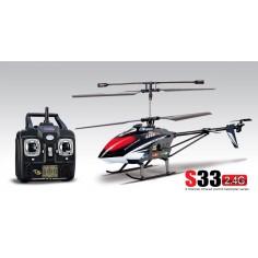 SYMA S33, 2.4Ghz sraigatsparnis su giroskopu ir aliuminiu rėmu 550mm, RTF