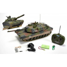 Hobby Engine M1A1 Abrams 1:16 tanko modelis, RTR
