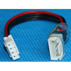3 celių, 4 kontaktų Li-Po balansavimo jungties prailginimo laidas
