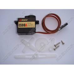 EMAX ES08A 8.5g 1.5kg 0.12s mikro servo mechanizmas