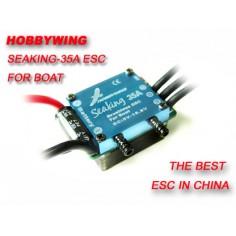 Hobbywing Seaking 35A bešepetėlinis reguliatorius laivų modeliams