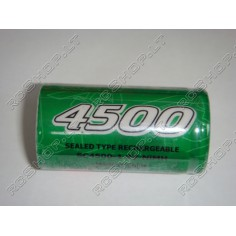 Gens Ace 4500mAh/1.2V SC-dydžio Ni-Mh akumuliatorius