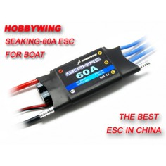 Hobbywing Seaking 60A bešepetėlinis reguliatorius laivų modeliams V2