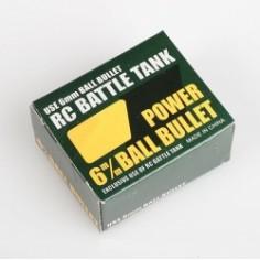 Plastikiniai 6mm šoviniai 1:24, 1:16 tankų modeliams