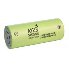 A123 LiFePO4 2300mAh/3.3V akumuliatorius (AR26650M1A)