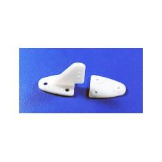 Plastikinė valdymo svirtis vidutinė 16.5 x 20mm 4-skylių (4vnt.)