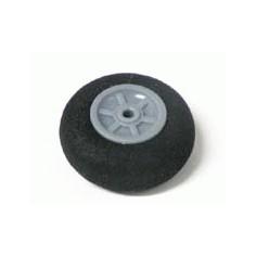 25mm diametro labai lengvas ratukas iš porėtos gumos