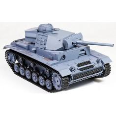 HL Panzer III 1:16 mastelio tanko modelis RTR dūmai + garsas
