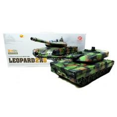 Leopard II A6 1:16 2.4GHz SMOKE/SOUND tanko modelis 2.4 GHz RTR