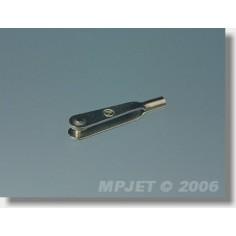 MP-JET metalinis traukės antgalis M2, 4vnt.