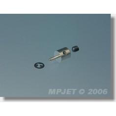 MP-JET metalinis traukės tvirtinimas 1.5mm, 4vnt.