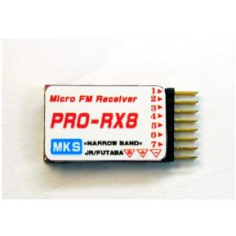 MKS 35MHz FM 8 kanalų mini imtuvas JR/Futaba