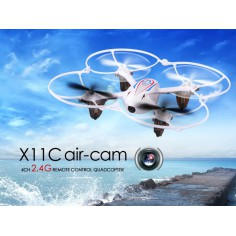 SYMA X11C Hornet su 2MP HD kamera 152mm, 2.4Ghz multikopteris, RTF