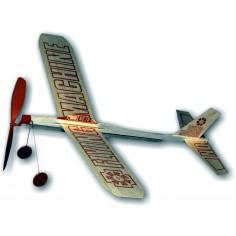 Flying machine,balsa motorplane 432 mm