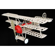 Fokker triplane lazer cut model