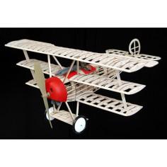 Fokker triplane lazer cut model