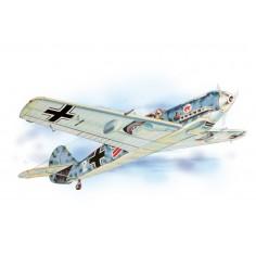 Messerschmitt historic plane kit lazer cut model