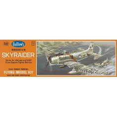 Skyraider A1H flying model kit