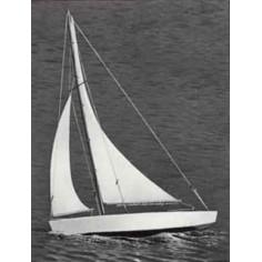 "17"" Ace Sloop sailboat"