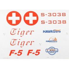 F-5E Tiger - Decals, (Swiss Tiger)