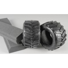 Monster Truck tires medium/ inserts, 2pcs.