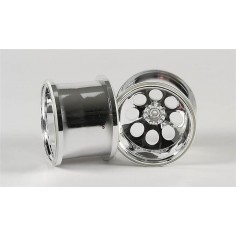 Stadium Truck wheels chromed, 2pcs.