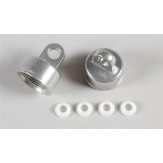 Upper shock absorber seal, 2pcs.