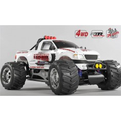 Monster Truck WB 535, 4WD, RTR, white body
