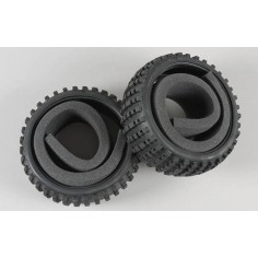 Baja tires S narrow with inserts, 2pcs.