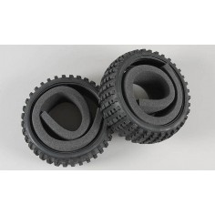 Baja tires M narrow with inserts, 2pcs.