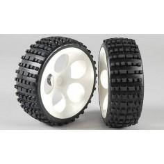 Baja tires M narrow glued, 2pcs.