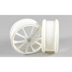 Off-Road spoke wheel 1:6, white, 2pcs.