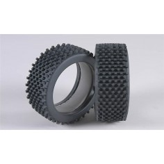 Mini block H / OR tires with inserts, 2pcs.
