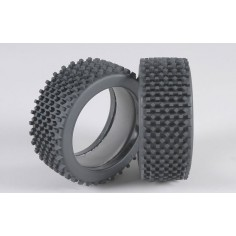 Mini block H / OR tires with inserts, 2pcs
