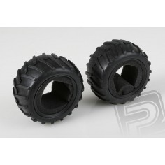 Tire 1:10 Monster, 2pcs