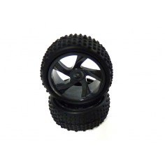 Tires for Truggy 2P (without rims)