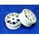 Wheel rims 2P white