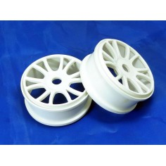Wheel rims 2P white