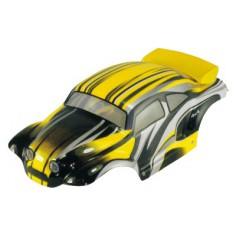 Car body Rock crawler 1:10 yellow